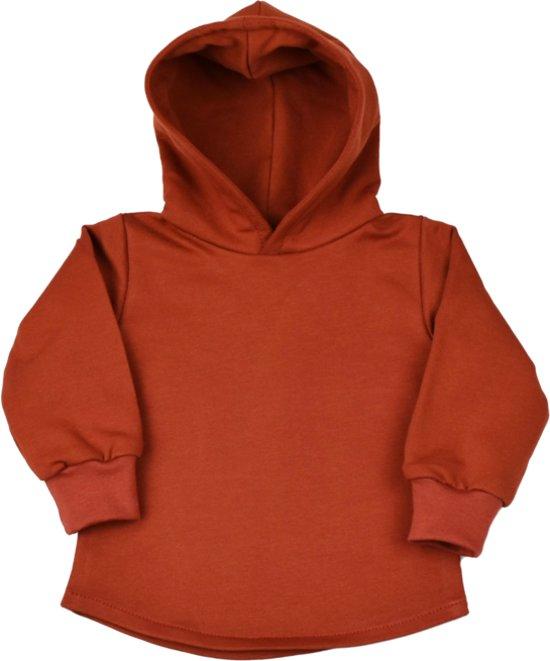 Soft Hoodie - Reddish Brown - R Rebels