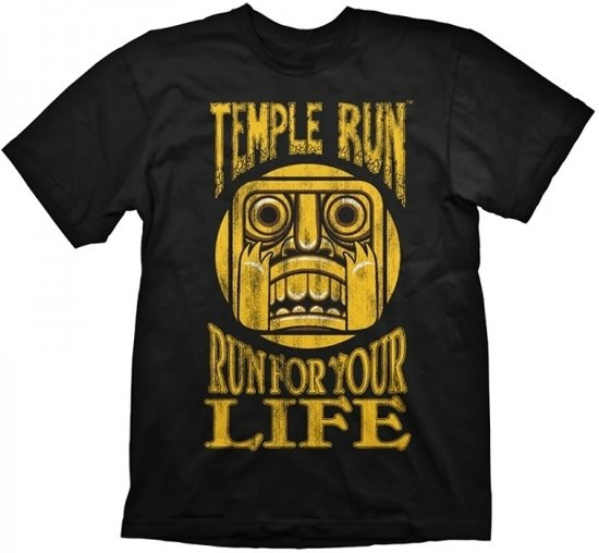 Temple Run T-Shirt - Run for your Life, (Maat S)