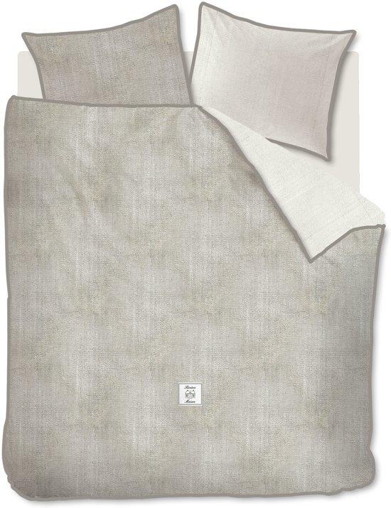 Rivièra Maison Coughton Court - Dekbedovertrek - Lits-jumeaux - 240x200/220 cm + 2 kussenslopen 60x70 cm - Zand