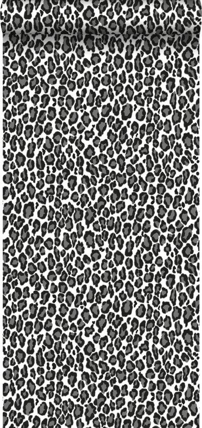 c24953b918c bol.com | HD vliesbehang panter zwart en wit - 136810 van ESTAhome.nl