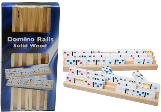 Domino Latten hout, set van 4 stuks
