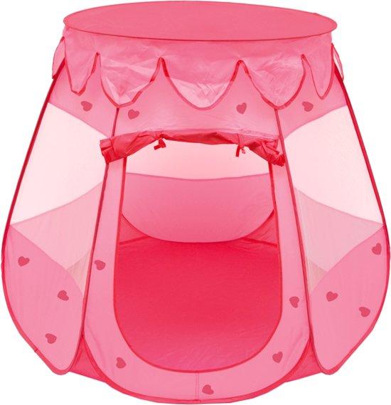 Meisje spelen Tent 120x120x90cm Kids Tent bal bad Pop-Up Tent roze Tent voor kinderen