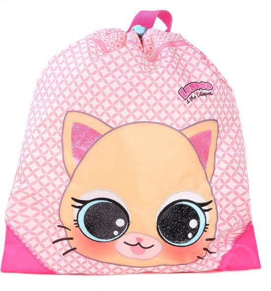 35726c47a17 Lulupop & the Cutiepies - cat - poes - gymtas - sporttas - zwemtas - 44x37cm