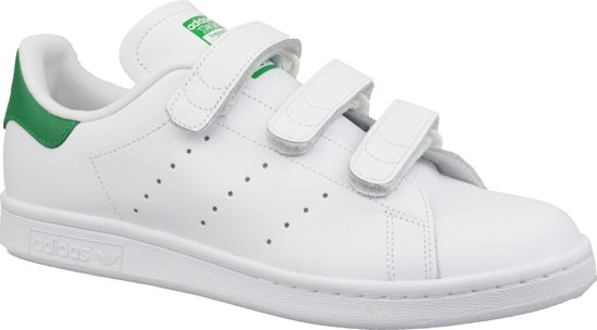 Adidas Stan Smith CF S75187, Mannen, Wit, Sneakers maat: 45 1/3 EU