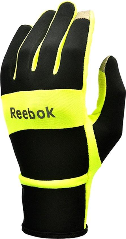 Reebok Running - Handschoenen - Thermo - Maat S - Zwart/Geel