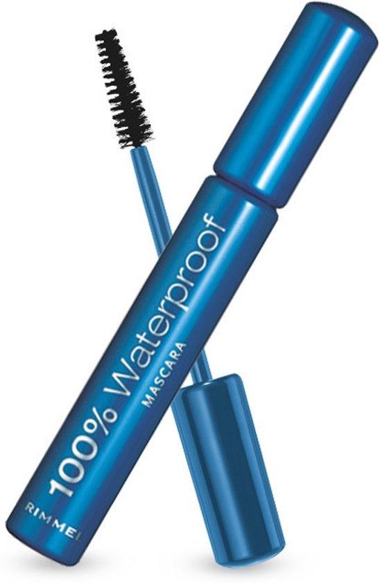 Rimmel London 100% Waterproof - 001 Black  - Mascara