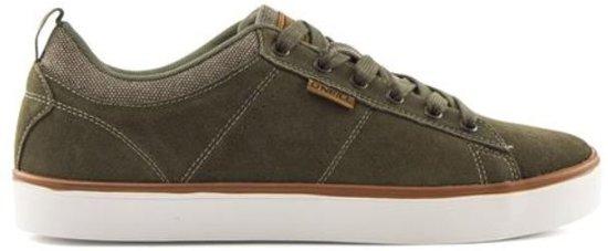 O'Neill Void Suede olive sneakers heren - Maat 41