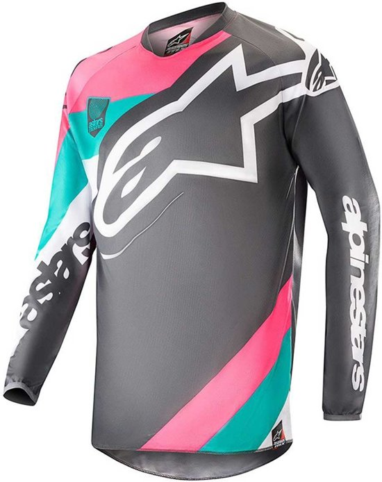 pink l Vice turquoise Racer Edition Limited Alpinestars Crossshirt Gray Indy fb7vI6gYy