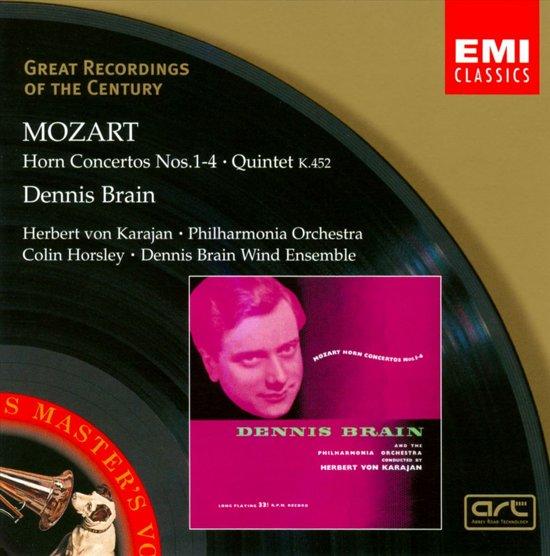 Mozart: Horn Concertos, Quintet K 452 / Brain, Karajan