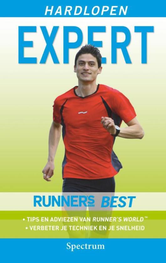 Cover van het boek 'Hardlopen Expert'