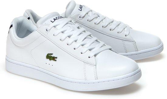 6840d15e601dda Lacoste Carnaby EVO BL 1 Sneakers - Maat 44 - Mannen - wit zwart