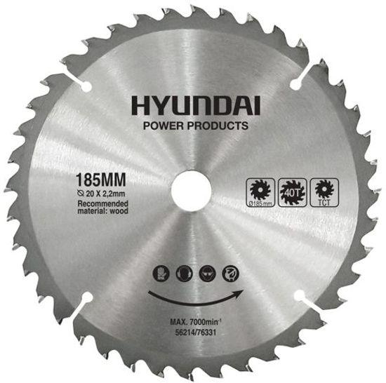 Hyundai zaagblad 40T/185mm voor de 56212