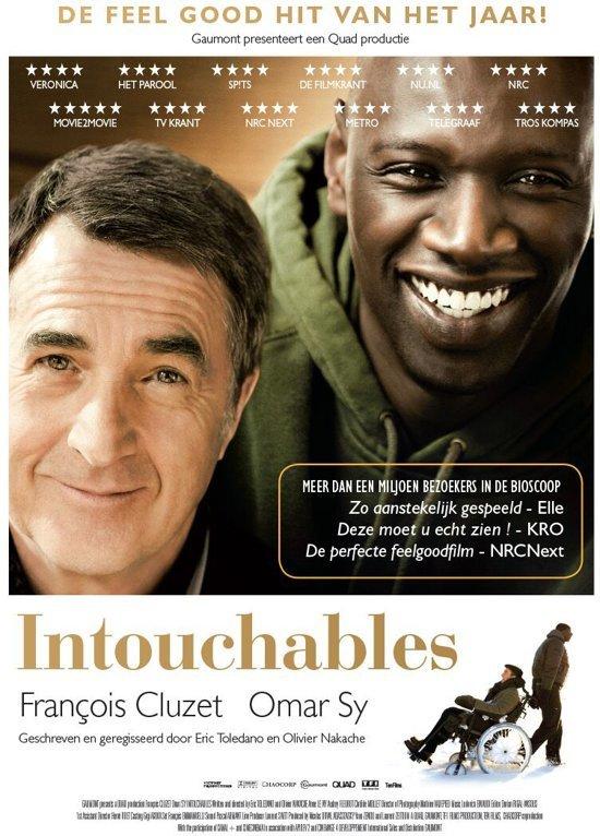 DVD cover van Intouchables