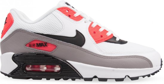 45721f94874 bol.com   Nike Air Max 90 Essential Sneakers Kinderen - rood/grijs