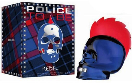Police To Be Rebel For Man Edt Spray 125 ml