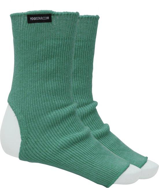 Yogasokken emerald green - wol Sportsokken YOGISTAR