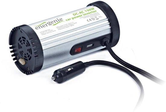 EnerGenie EG-PWC-031 - Omvormer voor in de auto, 150 W