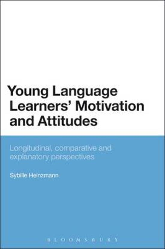 Young Language Learners' Motivation and Attitudes