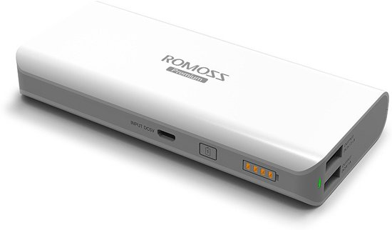 Romoss Sailing 5 Quick-charge, 13.000 mAh powerbank