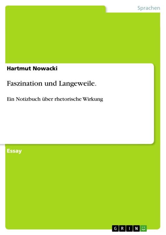Bolcom Faszination Und Langeweile Ebook Hartmut Nowacki