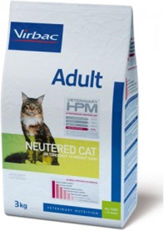 Virbac HPM  - Adult Neutered Cat - 12kg