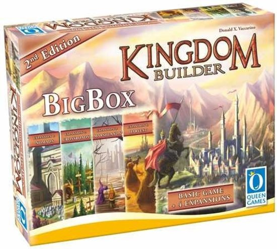 Kingdom Builder 2nd Edition Big Box Queen Games EN :: Queen Games
