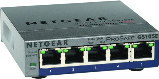 Netgear ProSAFE GS105E - Switch
