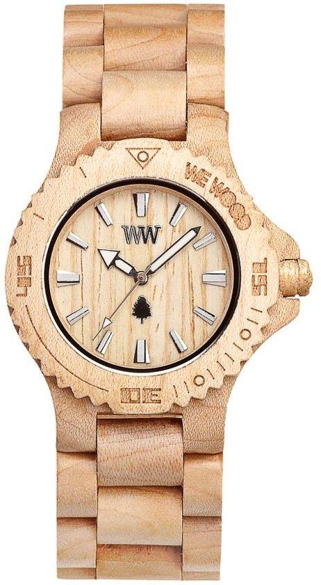 WeWOOD Date Beige - Horloge - Creme - 41 mm