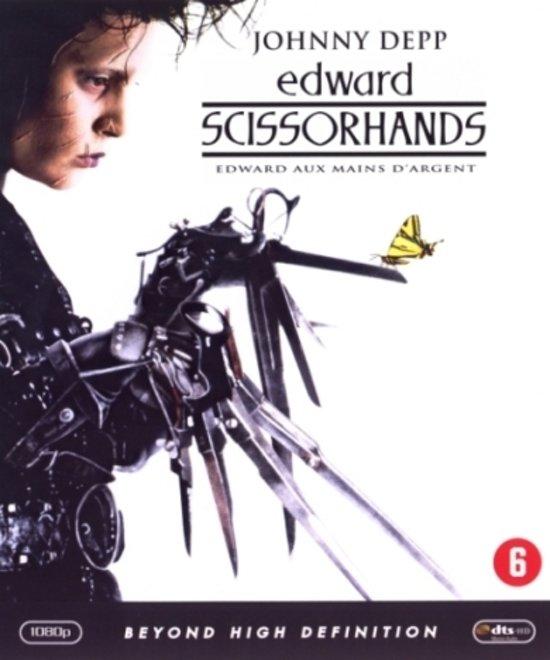 DVD cover van Edward Scissorhands (Blu-ray)
