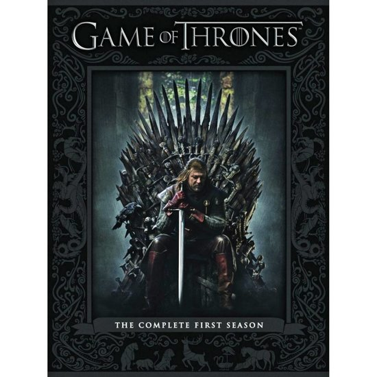 DVD cover van Game Of Thrones - Seizoen 1
