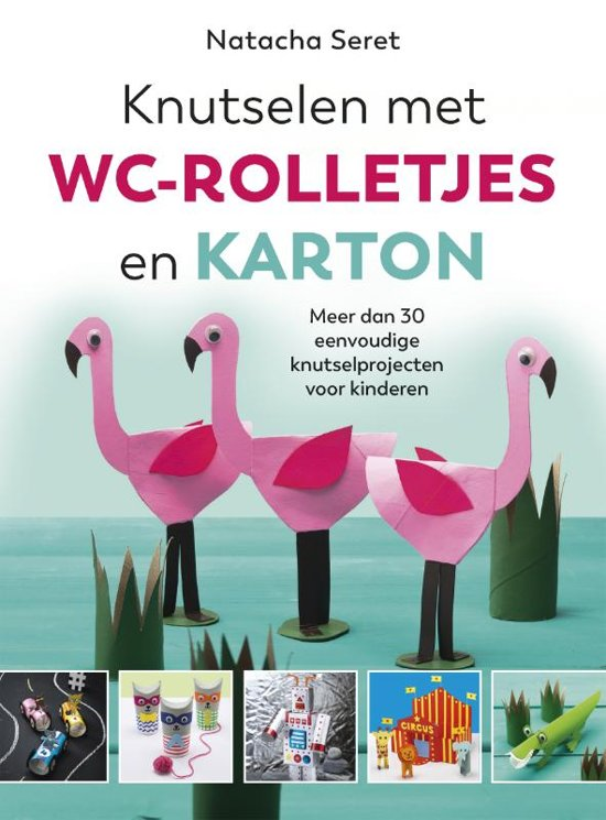 Extreem bol.com   Knutselen met WC rolletjes en karton, Natacha Seret &PQ17