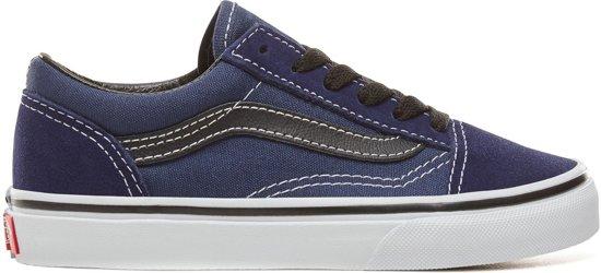 ad25b7a7ea6 Vans Old Skool - Sneakers - Kinderen - Medieval Blue/Zwart/Wit - Maat