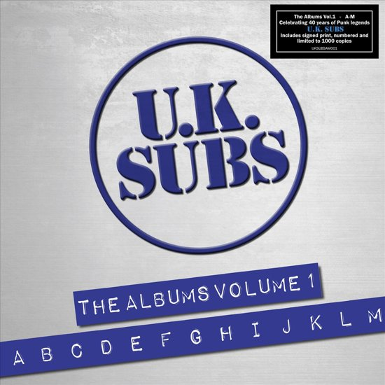 Bolcom Albums Volume 1 Box Set Uk Subs Cd Album Muziek