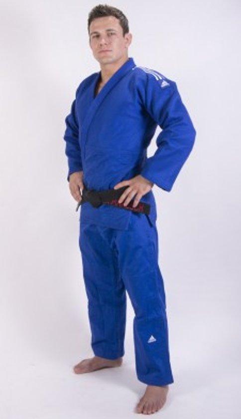 Judopak Adidas Champion II | IJF-goedgekeurd | blauw 180