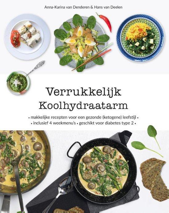 Boek cover Verrukkelijk Koolhydraatarm van Anna-Karina van Denderen (Hardcover)