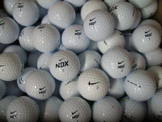 Golfballen gebruikt/lakeballs Nike NDX AAAA klasse 50 stuks.