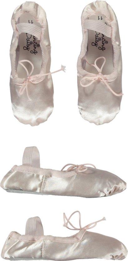 Balletschoen Satijn Roze - (21cm) Schoenmaat 33
