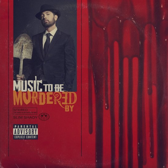 CD cover van Music To Be Murdered By van Eminem