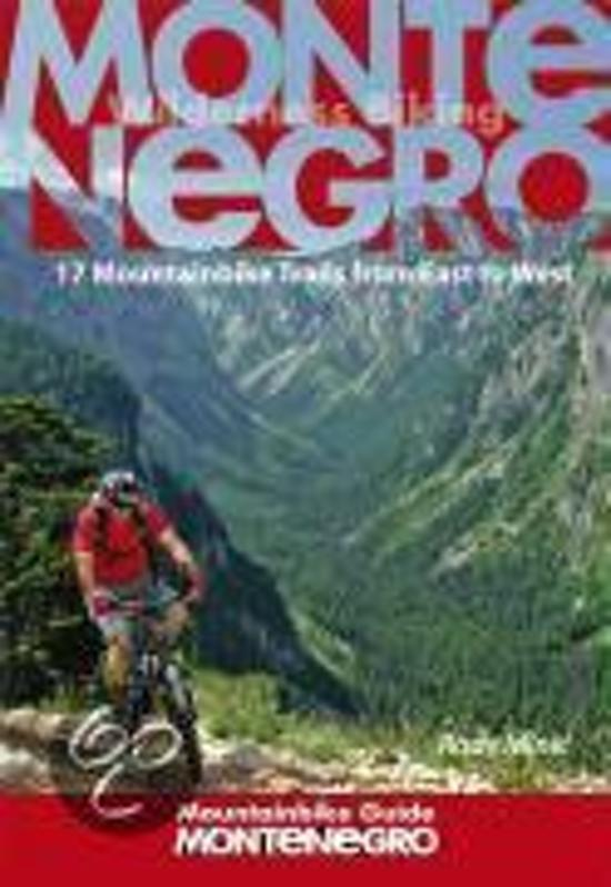 Montenegro Mountainbike Guide cover