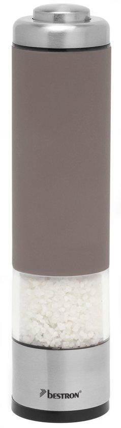 Bestron APS526T Elektrische Peper- & Zoutmolen  - Taupe