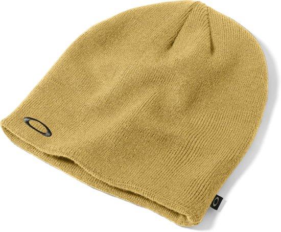 Oakley Fine Knit - Muts - Unisex - Oranje/Geel/Copper Canyon