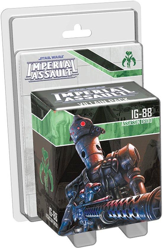 Afbeelding van het spel Star Wars Imperial Assault IG-88 Villain Pack