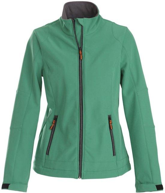 Printer Trial Lady Softshell Jacket Fresh green L