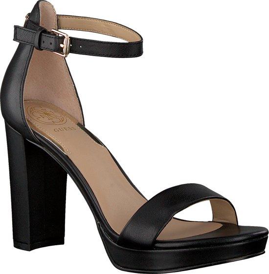 GUESS OMERE/SANDALO (SANDAL)/LEATHER Dames Sandals - Zwart
