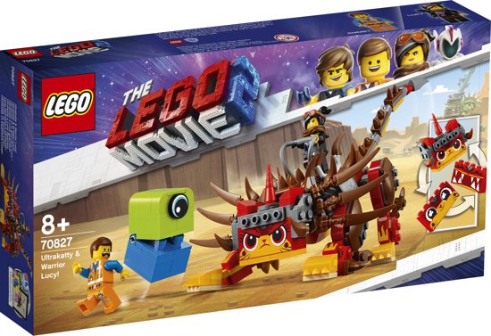 LEGO The Movie 2 Ultrakatty & Strijder Lucy! - 70827