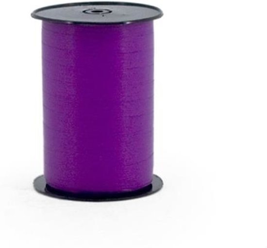 Krullint 5mm/500mtr paars
