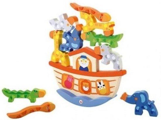 Afbeelding van het spel Sevi Balansspel Dierenboot 12-delig