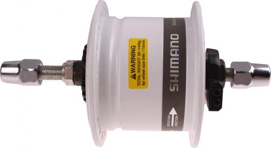 Shimano Naafdynamo Voor Dh-2r35-e Rollerbrake Wit