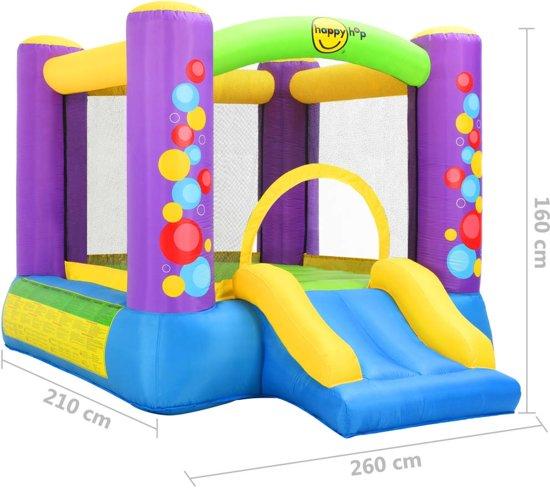 Happy Hop Springkussen met glijbaan 260x210x160 cm PVC