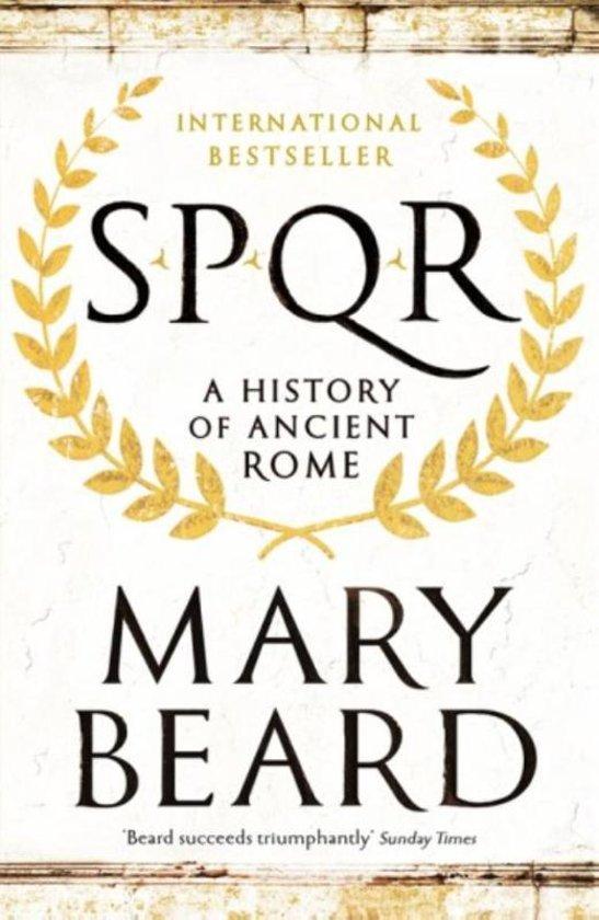 Boek cover Spqr van Mary Beard (Paperback)